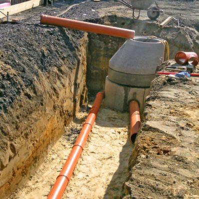 Entwässerungsprüfung